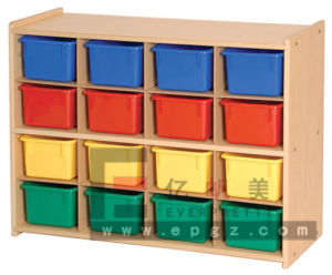 Customized colorful Design Durable Pre-School Nursery Kids Cabinet Bookself pictures & photos
