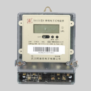 Single Phase LCD Analog Panel Meter pictures & photos