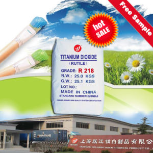 Rutile Titanium Dioxide for Interior and Exterior Paints (R218) pictures & photos