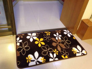 100% Polyester Colorful Printed Carpet Rug Entrance Door Mat pictures & photos