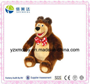 Russia Hot Sell Talking Masha and Bear Soft Stuffed Toy pictures & photos
