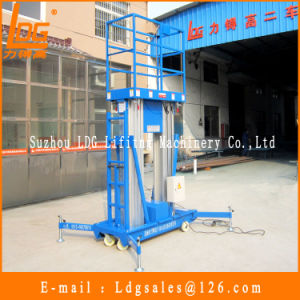 10meters Aluminium Hydraulic Mast Aerial Work Lift Platform (GTWY10-200S) pictures & photos
