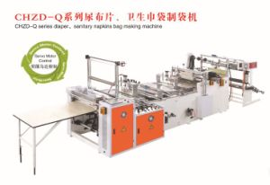 Diaper & Sanitary Napkins Bag Making Machine (Factory Price) pictures & photos