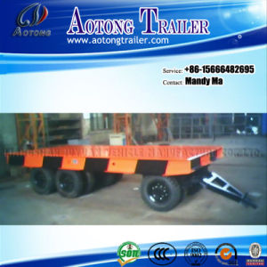 3 Axle Port Trailer, Flatbed Utility Trailer pictures & photos