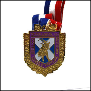 Custom Metal Medal with Ribbon, Gold Metal (GZHY-JZ-027) pictures & photos