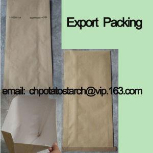 Sales Native Potato Starch Paper Bag, 25kg/Bag pictures & photos