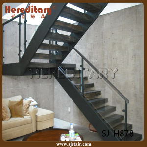 Simple Design Steel Staircase for Indoor Decoration (SJ-H852) pictures & photos