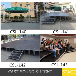 Outdoot Ridge Tent Aluminum Portable Movable Stages pictures & photos