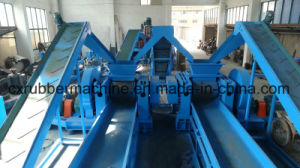 Ce Automatic Waste Tyre Rubber Recycling Production Line pictures & photos