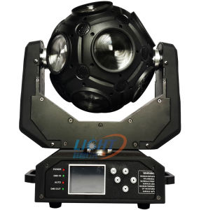 Newest 12PCS RGBW 4in1 Football /Globe LED Moving Head pictures & photos