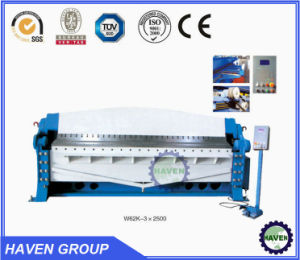 Hydraulic Swing Folding Machine (W62Y 3*2500) pictures & photos