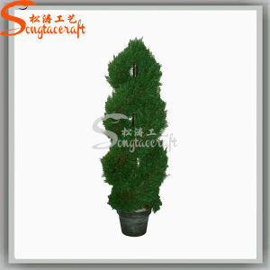 Ome Wholesale Decoration Beautiful Artificial Bonsai Plastic Topiary Tree pictures & photos