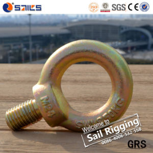 Galvanized Carbon Steel JIS B1168 Drop Forged Eye Bolt pictures & photos