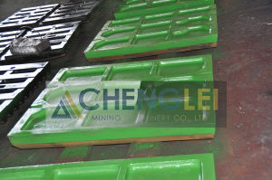 Manganese Steel Jaw Plate pictures & photos