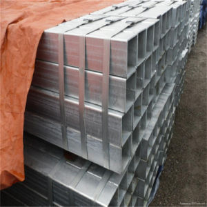 Rectangular Galvanized Steel Tube (hot dipped galvanized) pictures & photos