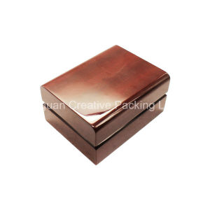 High Glossy Red Lacquered Wooden Watch Box pictures & photos