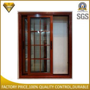 2016 Design Double Glazing Aluminum Sliding Window /Aluminium Windows with Grill Design (JBD-S2) pictures & photos