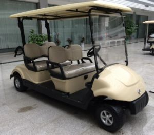 Dongfeng Star Product 4 Seater Electric Golf Cart with CE Certificate on Sale pictures & photos