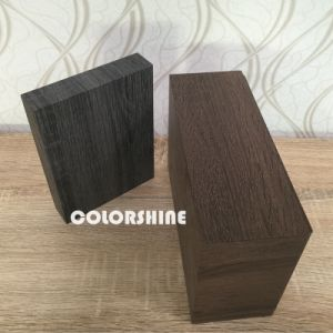 Black Facy Wooden Like Jewellery Paper Packing Gift Box pictures & photos