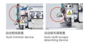 Zoyer Pegasus Ex Direct Drive Overlock Industrial Sewing Machine (ZY988-4D) pictures & photos