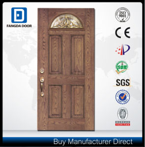 Fan Lite Energy Saving Sunproof Fiberglass Door pictures & photos