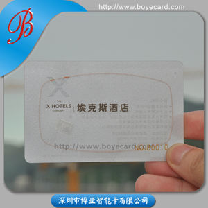 PVC Plastic Smart Chip One Proximity Card pictures & photos