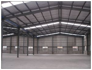 China Prefab Light Steel Warehouse Building pictures & photos