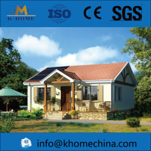 K-Home Earthquake Proof Light Frame Steel Structure Villa pictures & photos