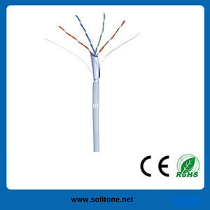 Cat5e FTP LAN Cable with PVC (ST-CAT5E-FTP) pictures & photos