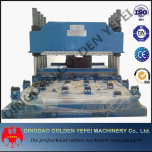 Single Station Rubber Silicone Keyboard Plate Vulcanizing Press Machinery pictures & photos