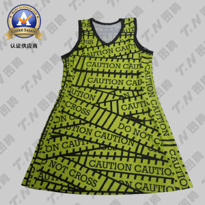 2015 Fashion Sublimation Netball Dress pictures & photos