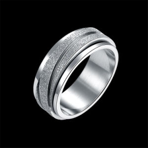 Simple Titanium Steel Round Ring Hot Sale Stainless Ring in Europe Unisex pictures & photos