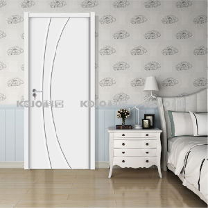 European Style WPC Decorative Material Painting Door (YM-073) pictures & photos
