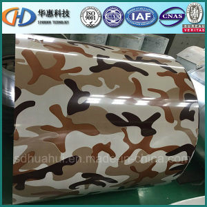 Prepainted Steel Coil/PPGI with Army Color pictures & photos