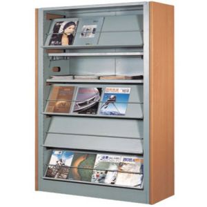 Library Furniture Bookcases Bookshelf Magazine Shelf/Book Shelf pictures & photos