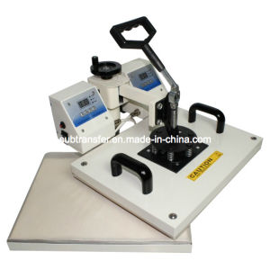 2 Heads Digital Combo Heat Press Machine 8 in 1