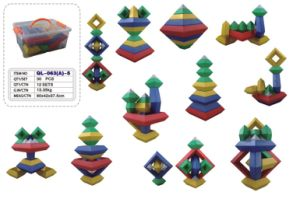 Pyramid Shape Building Blocks