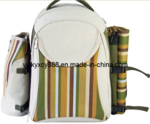 Outdoor Double Shoulder Picnic Bag Backpack Pack (CY5926) pictures & photos