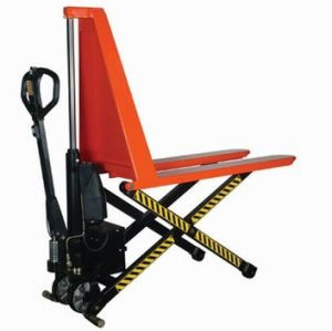 1000kg Electric Hydraulic High Lift Scissor Truck pictures & photos