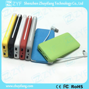 External Battery Charger Dual USB Port 4000mAh Power Bank (ZYF8025) pictures & photos