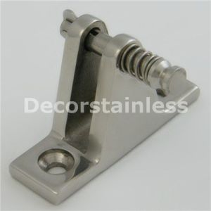 Stainless Steel Angled Deck Hinge pictures & photos