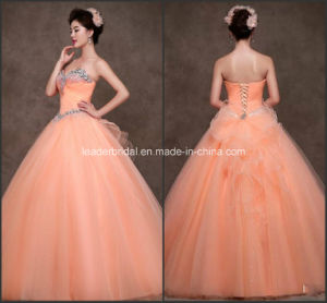 Sweetheart Quinceanera Gowns Bow Fashion Quinceanera Dresses Z7005 pictures & photos