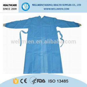 Hospital Disposable SMS Sterile Surgical Gown pictures & photos