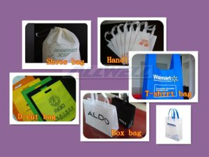 Nonwoven Bag Making Machine with Handle Attach pictures & photos