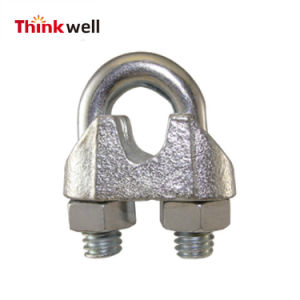 Hot Sale Galvanized Us Type Malleable Wire Rope Clips/Clamp pictures & photos