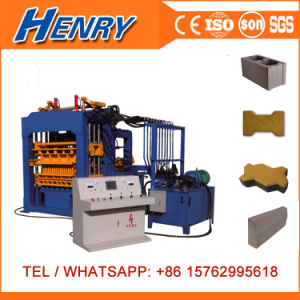 Engineers Available Qt4-15 Full Automatic Concrete Cement Block Paver Brick Making Machine pictures & photos