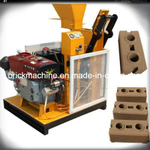 Eco Maquinas Hydraulic Interlocking Soil Brick Machine Price in Brazil pictures & photos