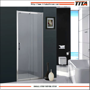 2014 Small Size Glass Shower Door T-14p pictures & photos