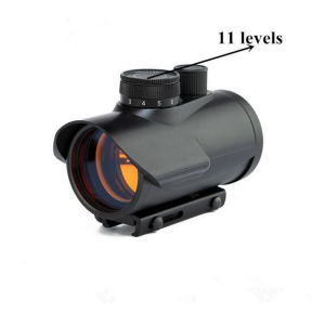 40X Tactical Red DOT Sight Scope/China Red DOT Scope with 11 Levels Brightness Control for Optic Riflescopes Hunting pictures & photos