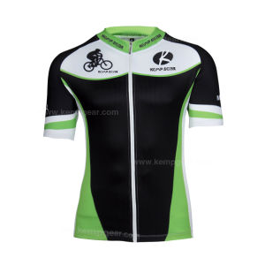 Sublimation Cycling Wear for Men with Functional Spandex Fabric